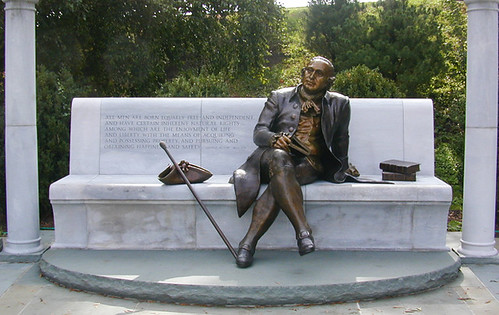 George Mason Memorial (by: US National Park Service, courtesy of ASLA)