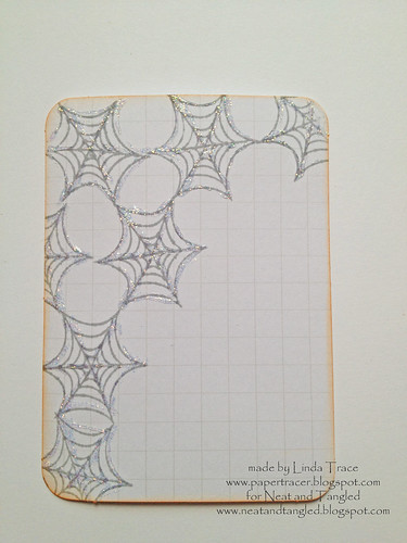 Custom Halloween journalling card 1