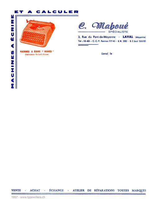 letterhead_mahoue_1957