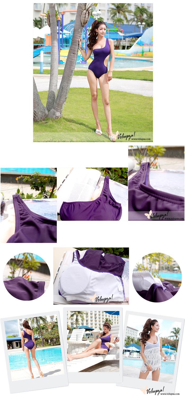 SWIMWEAR 8 - Charo Monokini - Purple