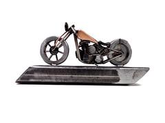 Flathead Bobber Sculpture