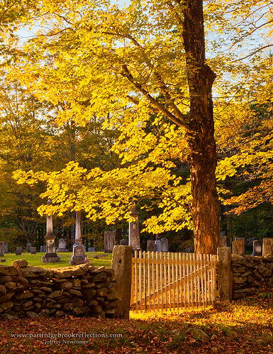 autumn sunset fall vermont newfane newfanevillagecemetery