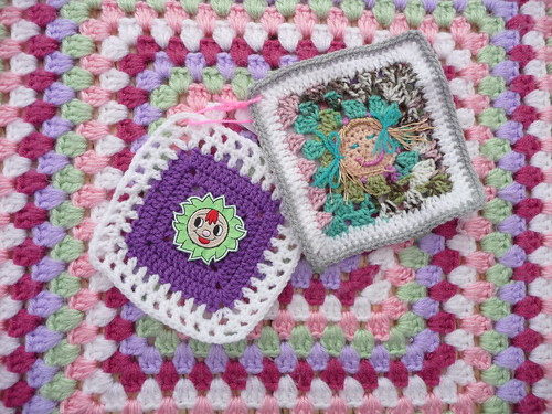 'Faces Challenge' squares are lovely!