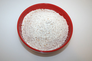01 - Zutat Vollkornmehl / Ingredient whole grain flour