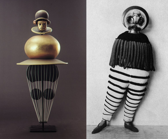 Oskar Schlemmer, image via ThinkingForm