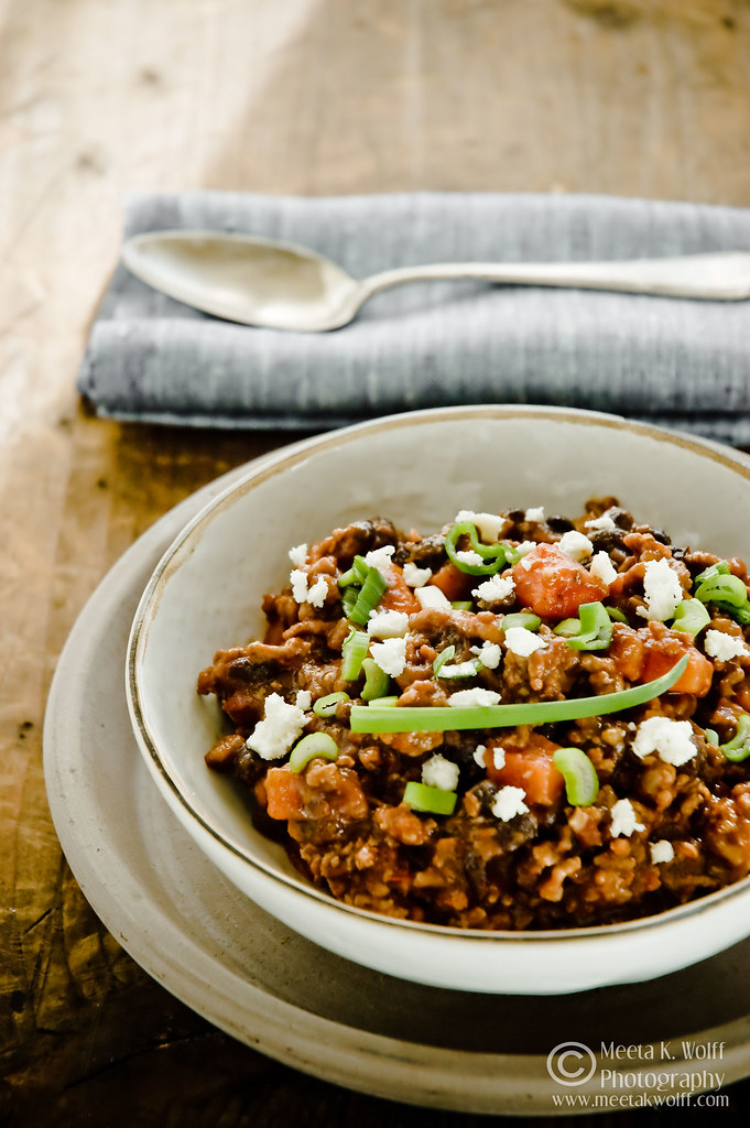 Black Bean Beef Chilli (0022) by Meeta K. Wolff