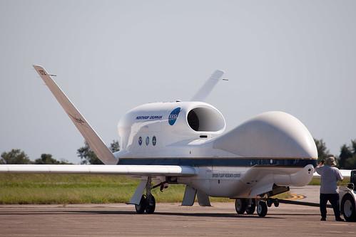 Global Hawk Arrival