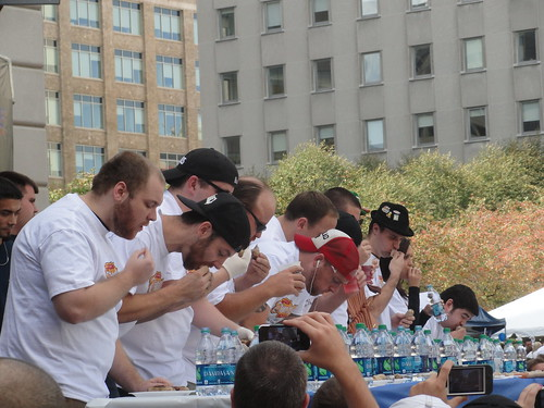 Bratwurst Eating Contest