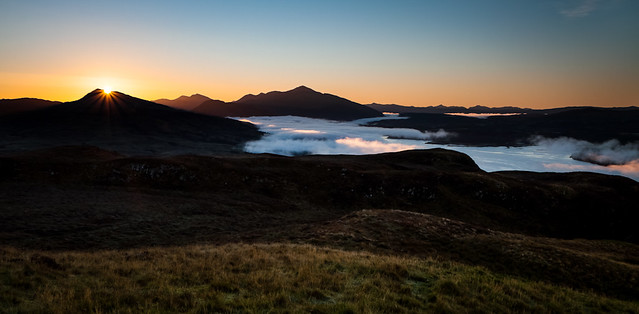 Sunrise from ben Lora [IMG_0620]