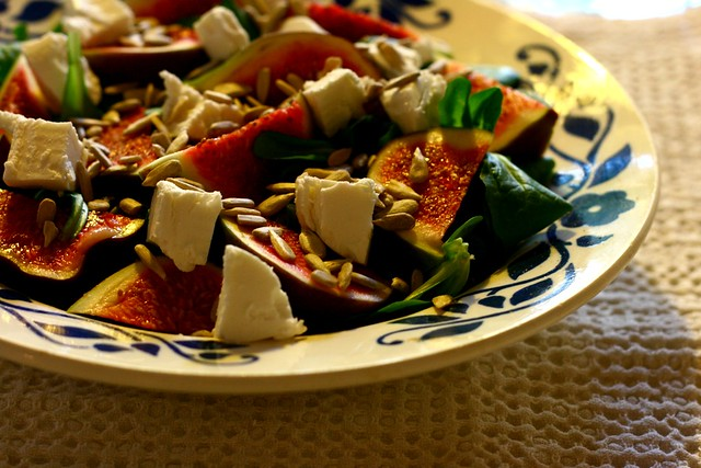 Fig Salad...nomnomnom =)