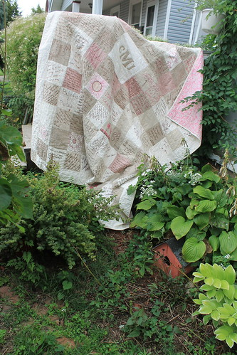 Linen Wedding Signature Quilt