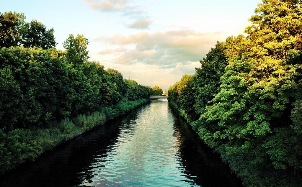 os canais de Berlin