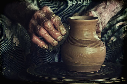 Potter's Hands by dbnunley