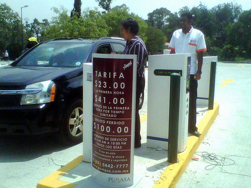 Cuotas Estacionamiento 2da Seccion del Bosque de Chapultepec
