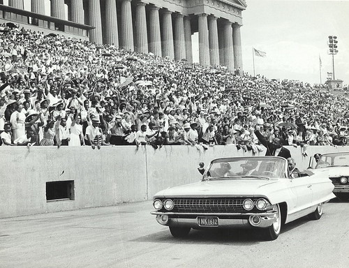 Martin Luther King, Jr. at Chicago Freedom Movement Rally, Soldier Field