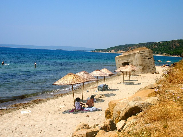 Gallipoli beach
