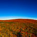 Fall Colors Panorama by JohnMiller Photography