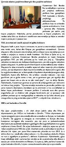 Berisha: TAP, investimi më i madh në rajon