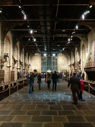 The Hogwarts Great Hall set.