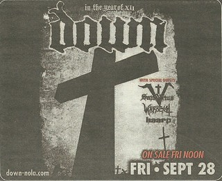 09/28/12 Down/ St. Vitus/ Warbeast/ Haarp @ Best Buy Theater, NYC, NY