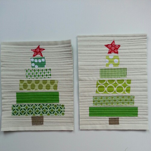 Feeling Christmasy mug rugs