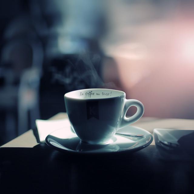 in coffe we trust