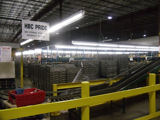 Giant Eagle's HBC T8 & LED Hi-Bay Lighting After Upgrade