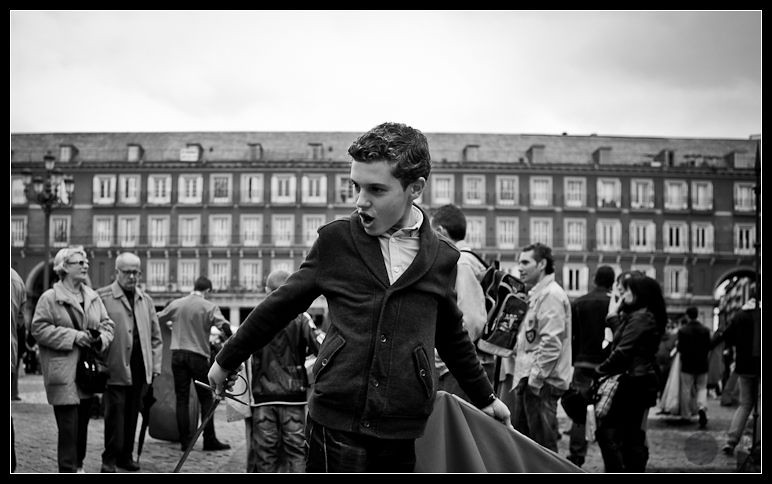 Toreo en la Plaza Mayor 17