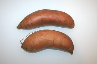 01 - Zutat Süßkartoffeln / Ingredient batatas