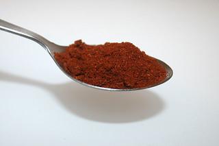 10 - Zutat Cayennepfeffer / Ingredient cayenne