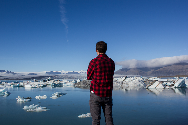 Jökulsárlón. Iceland.