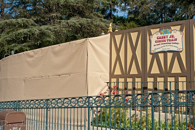 Storybook Cannal Boats / Casey Jr Refurbishment