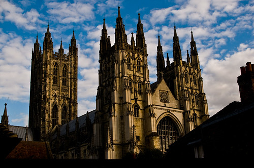 Canterbury - Cathedral at Sunset - 09-19-12