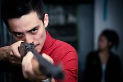 [フリー画像素材] 人物, 男性, 小銃・ライフル ID:201210071800