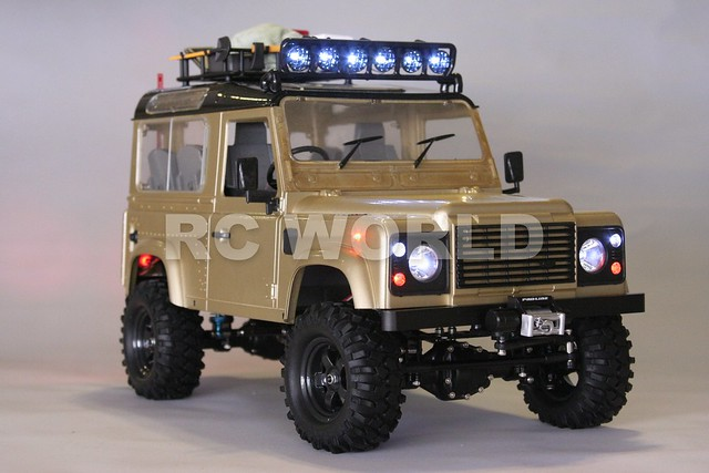 radio control rc land rover defender 90 rc truck 4wd. Black Bedroom Furniture Sets. Home Design Ideas