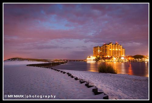 night sunrise hotel grande twilight sand florida resort fl destin emerald harborwalk