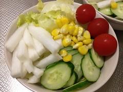 朝食サラダ (2012/9/14)