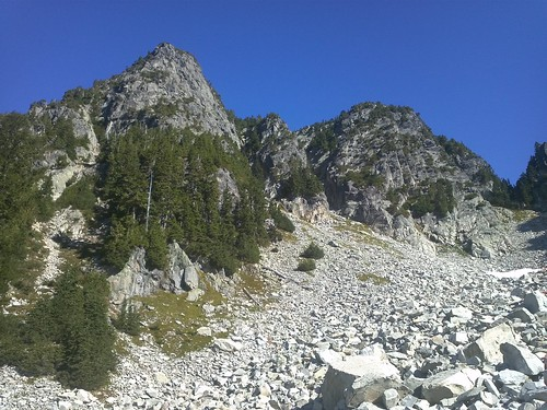 The peak of Hanover from the boulder field