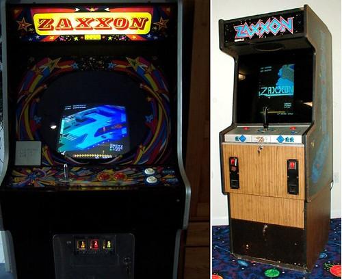 Zaxxon Cabinets