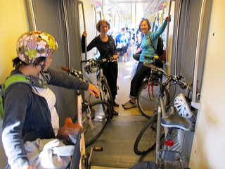 Bikes on the SkyTrain