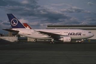 TAROM Airbus A310-324; YR-LCC@ZRH, April 1994