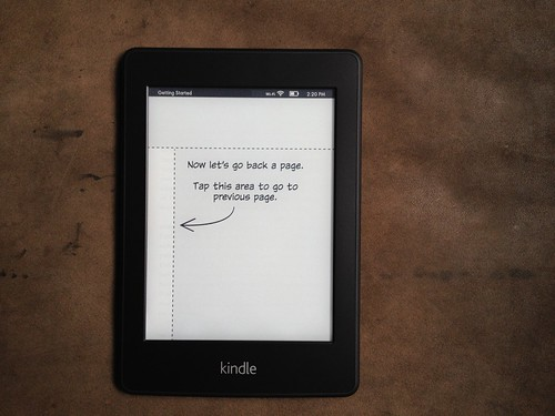 Kindle paperwhite built in tutorial