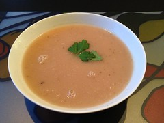 Patisson soup