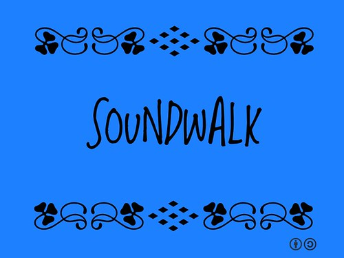 Buzzword Bingo: Soundwalk = excursion where the main purpose is listening to the environment