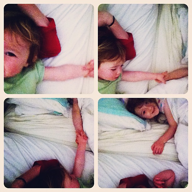 Morning. #cosleeping #owlets