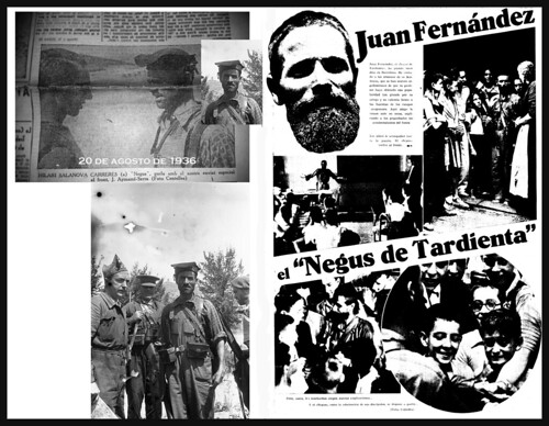 El Negus de Tardienta: Hilario Salanova Carreras, fotos: Agustí Centelles i Ossó. by Octavi Centelles