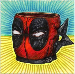 I drew you a Deadpool character Mug of Coffee