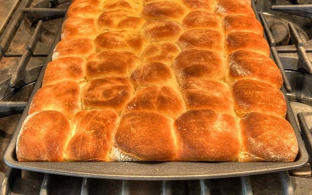 Sweet Potato Rolls | Flickr - Photo Sharing!