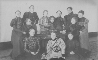 "Members of the 1896 ""Chafing Dish Club"""