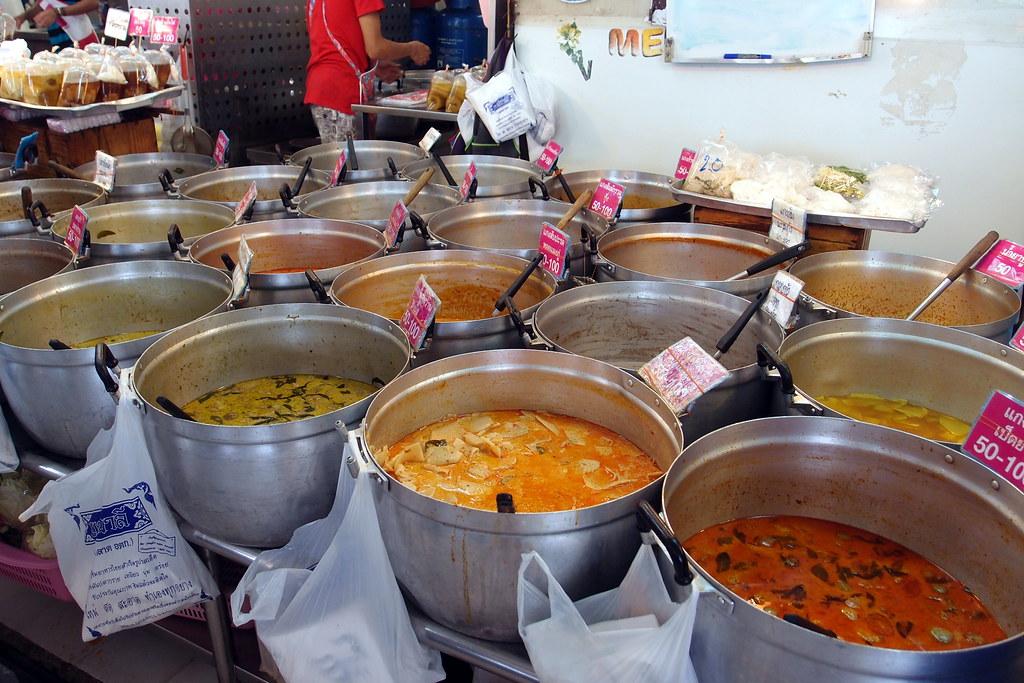 Or Tor Kor Market: Thai-style Chap Chai Peng